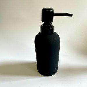 Cb2 Silicone Black Soap Dispenser Pump Modern